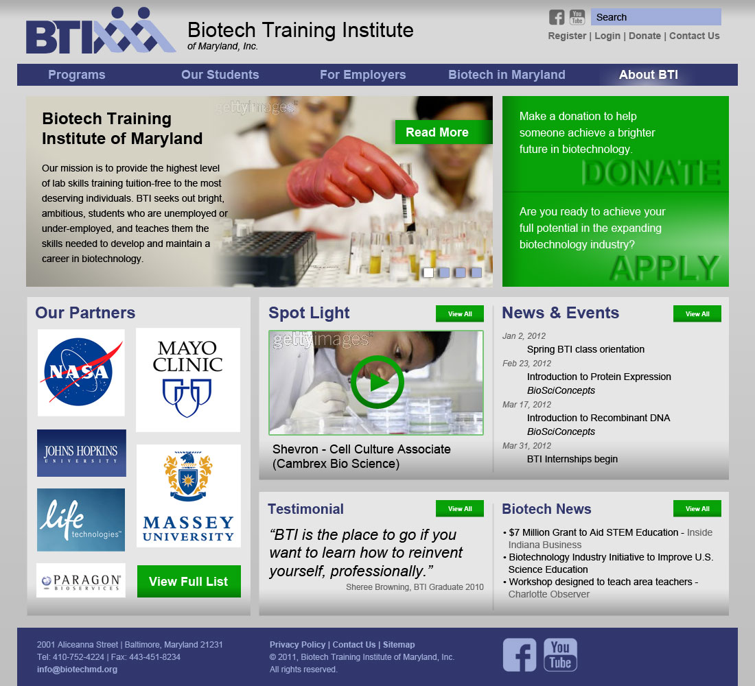 BTIWebsiteHome