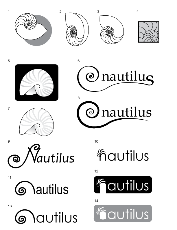 Nautilus Logo Ideas